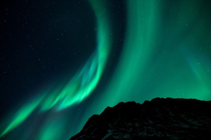 Preview wallpaper northern lights, night, night sky, phenomenon 1920x1080