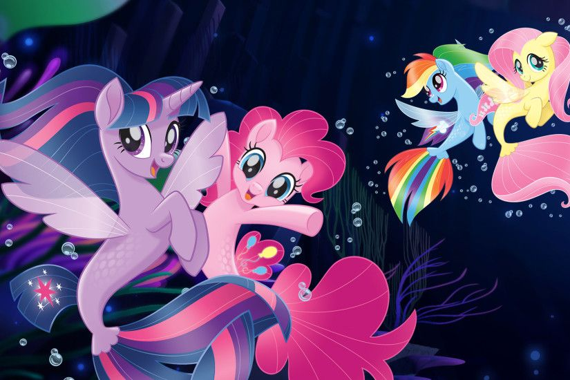 My Little Pony The Movie wallpaper mermaid ponies - seaponies