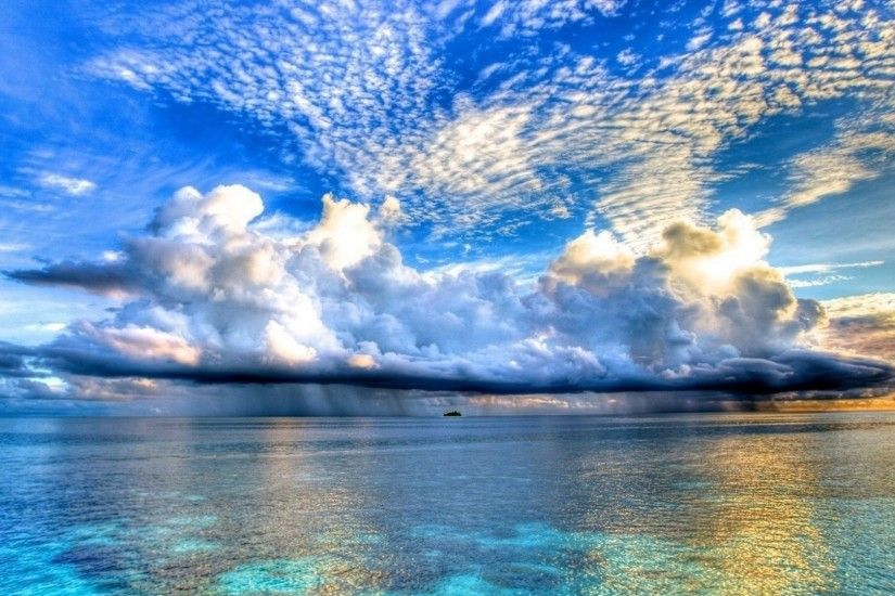 Ocean Clouds Desktop Background. Download 1920x1080 ...