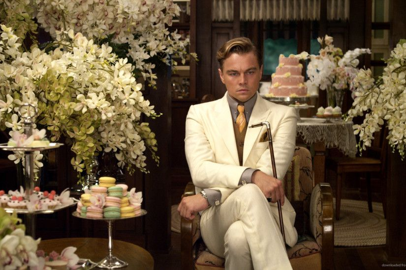 The Great Gatsby Angry Leonardo DiCaprio for 1920x1080