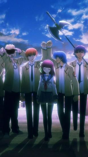 beautiful angel beats wallpaper 1080x1920