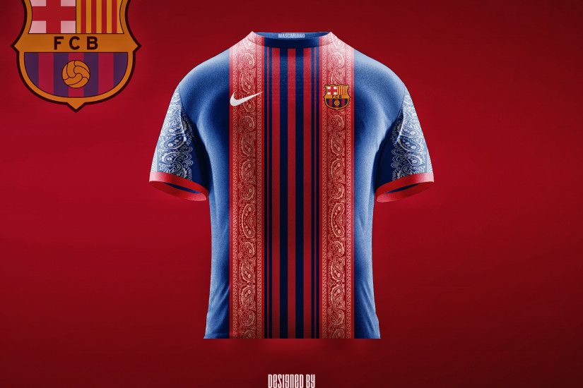 ... F.C. Barcelona 2017/2018 (Concept Kit) by Mascariano