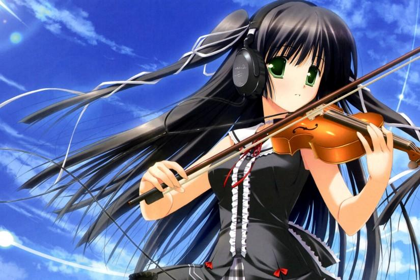 Anime Music Wallpaper Violin | The Art Mad Wallpapers