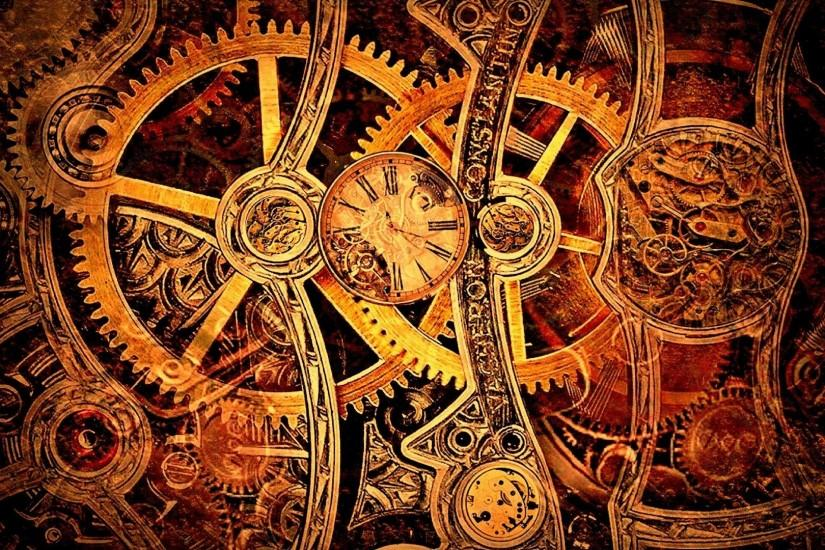 Steampunk Wallpaper Gears 861407 ...