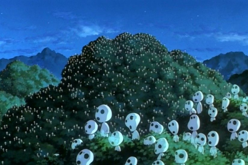princess mononoke wallpaper free hd widescreen - princess mononoke category