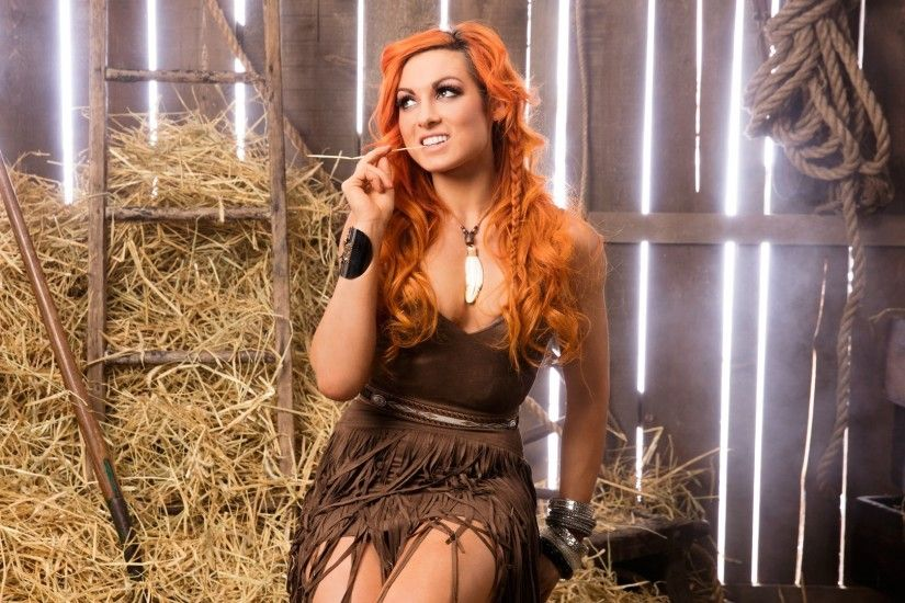 People 1920x1080 WWE Becky Lynch dyed hair redhead wrestling