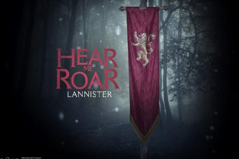 Game Of Thrones House Lannister