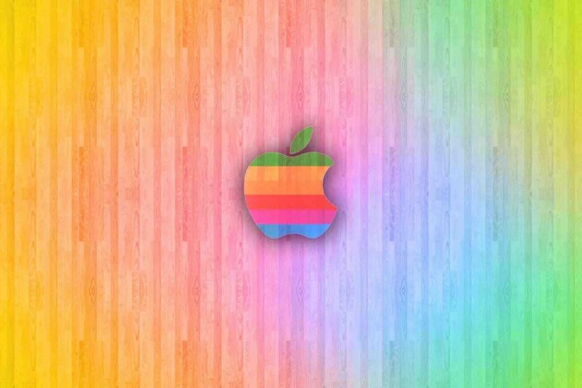 Mac ios background colorful apple logo - Nice HD Wallpapers