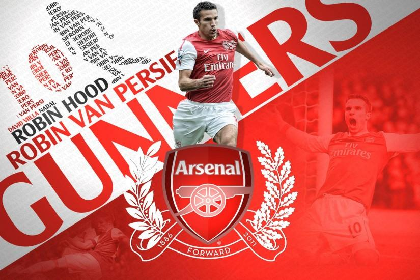 Robin-Van-Persie-Arsenal-Wallpaper Arsenal Football HD free .