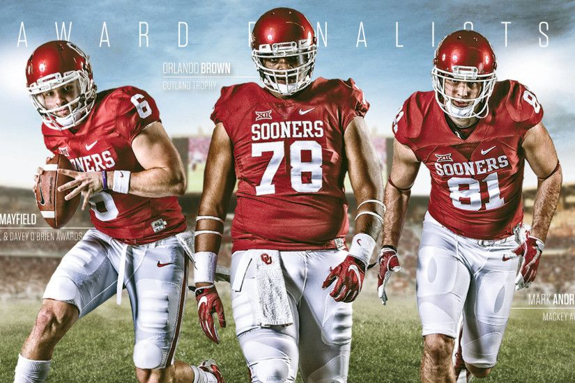 Sooners' Trio Named Finalists for Awards. stop. Athletics Communications