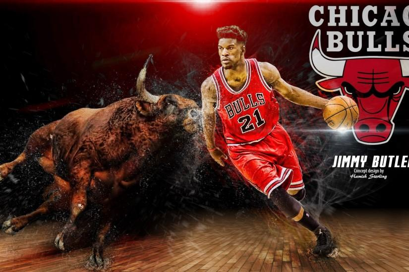 Free Wallpapers - Jimmy Butler Chicago Bulls 2016 Wallpaper wallpaper