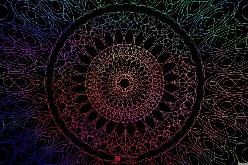 cool mandala wallpaper 3554x1999