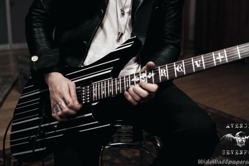 Syn Gates Guitar Avenged Sevenfold Wallpapers
