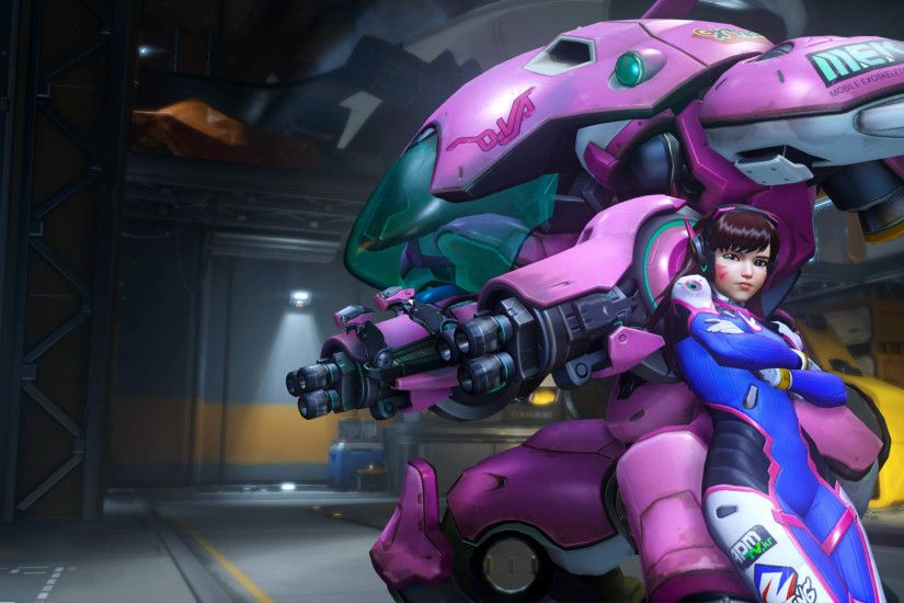D.Va - Overwatch 3840x2160 wallpaper