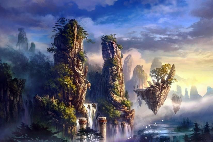 top fantasy landscape wallpaper 1920x1222