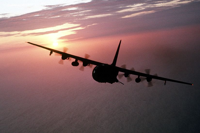 Aircraft Ac130 26421890 Wallpaper 834425 2642x1890