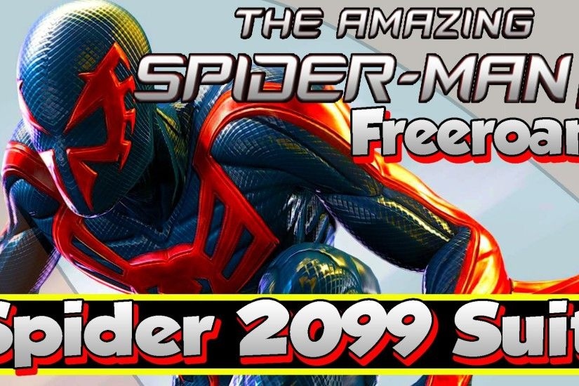 The Amazing Spider-Man 2 | Spider-Man 2099 Costume Skin Suit Unlockable w/  Side Missions & Freeroam - YouTube
