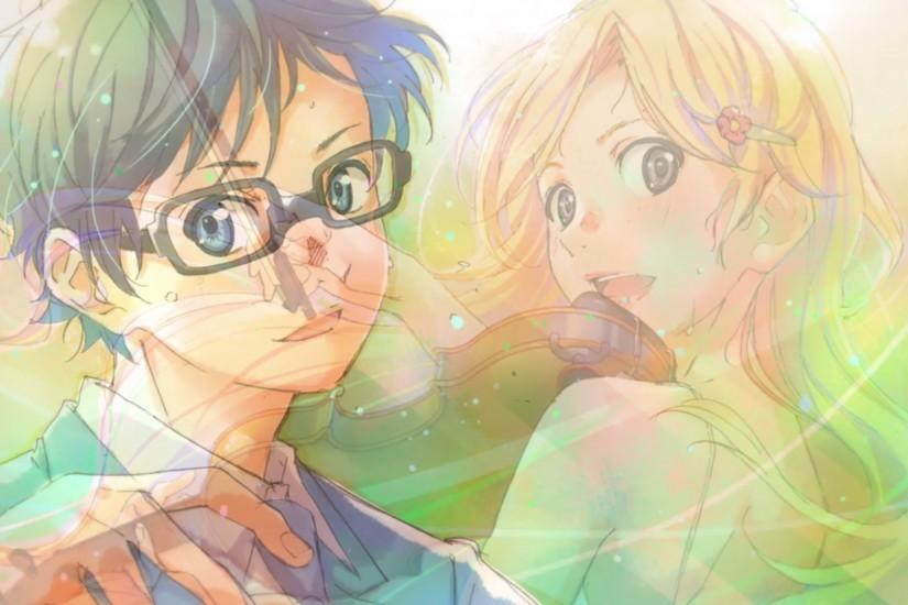 your lie in april wallpaper 2560x1440 for retina