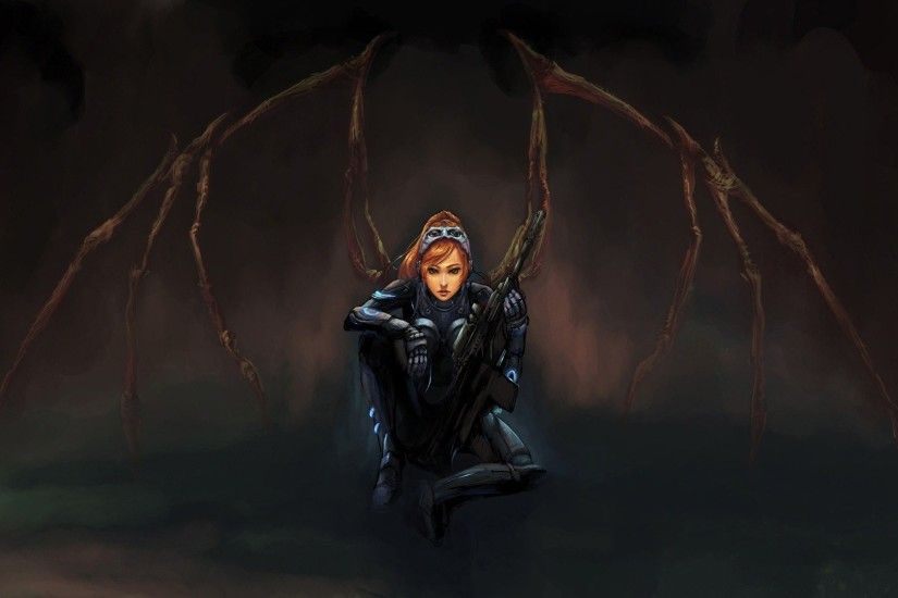 Video Game - Starcraft Sarah Kerrigan Wallpaper