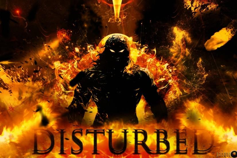 Disturbed (Band) HD Indestructible Background by pacmanbiohazard .