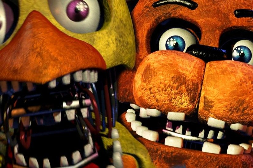 Five Nights At Freddy's 2 - Custom Night 20/20/20/20 Complete - YouTube