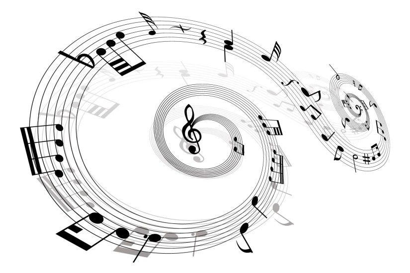 Music notes clipart famous and free vector logos