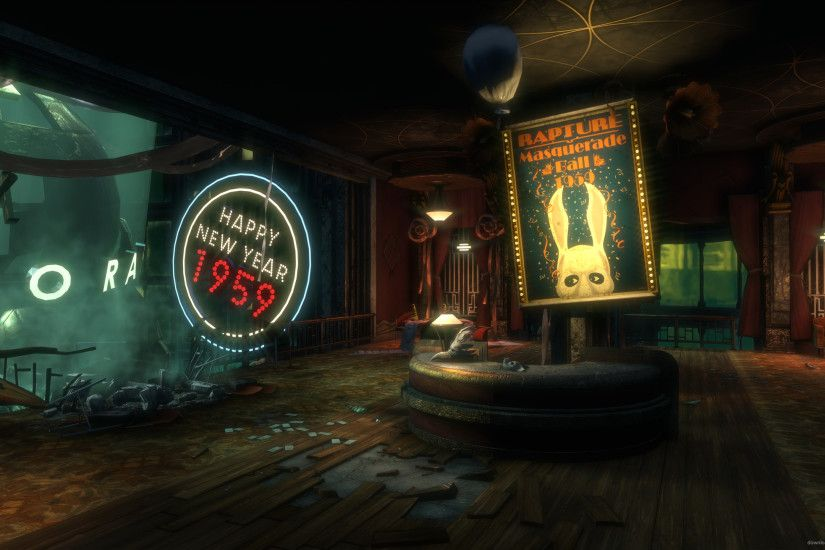 Bioshock Midnight in a Perfect World for 2560x1440
