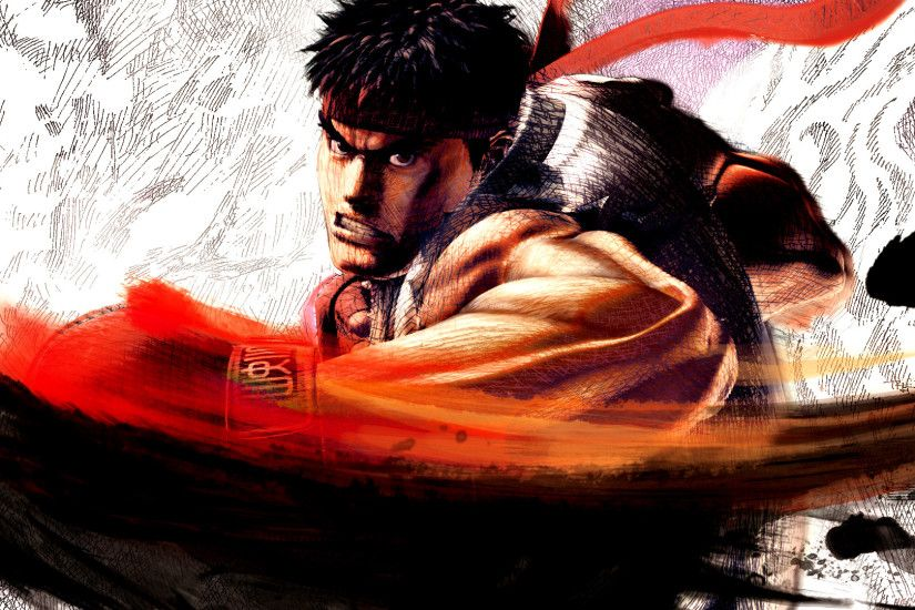 Ryu Street Fighter IV Desktop Wallpaper