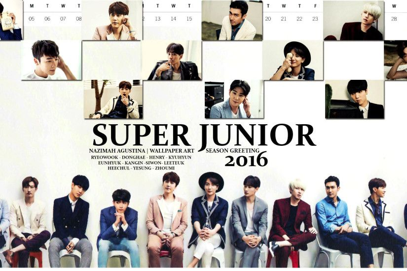 1920x1080 SUPER JUNIOR 2016 SEASON GREETING WALLPAPER BY NAZIMAH AGUSTINA .