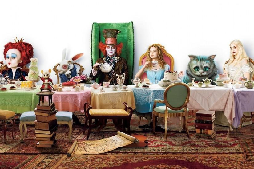 alice in wonderland wallpaper 1920x1080 full hd