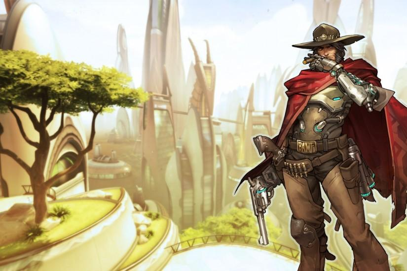 mccree wallpaper 1920x1080 phone