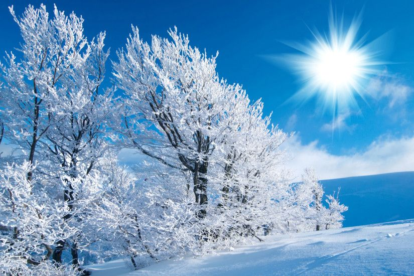 Christmas <b>Snow Scene Wallpapers</b> - <b>Wallpaper