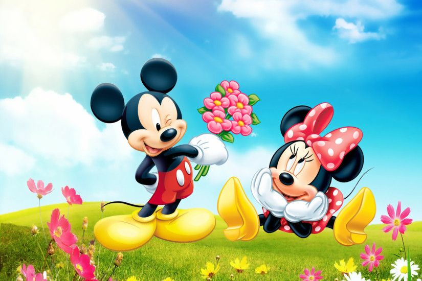Mickey Minnie Desktop Background HD wallpapers