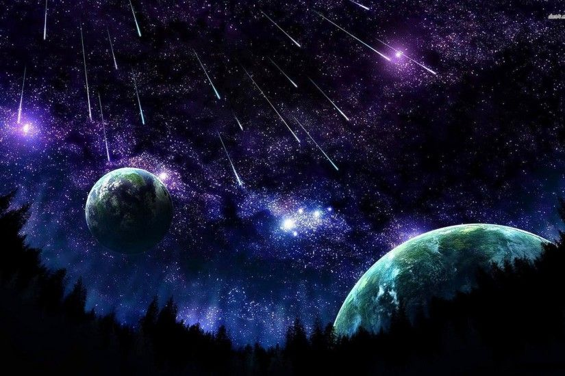 Night Sky Wallpaper Background