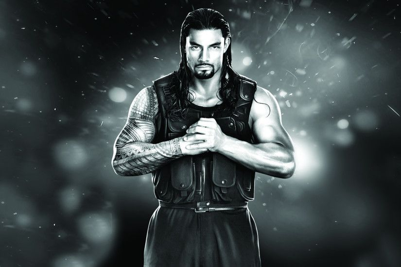 WWE Wrestler Roman Reigns New Look Photo.