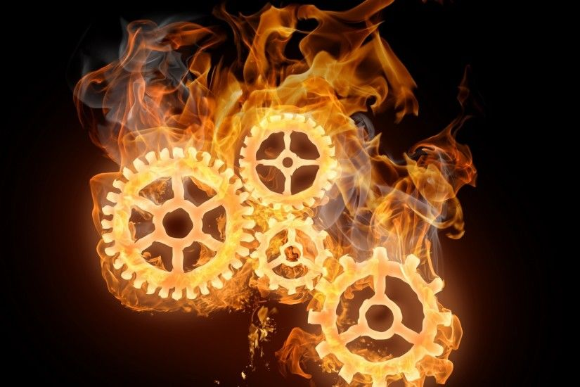 1496 0: Wheels On Fire iPad wallpaper