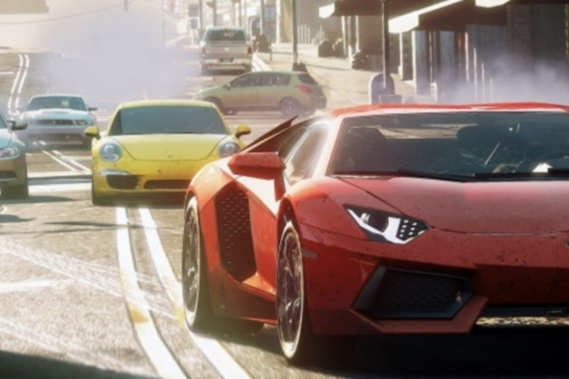 Lamborghini 2012 NFS Most Wanted wallpapers (47 Wallpapers)