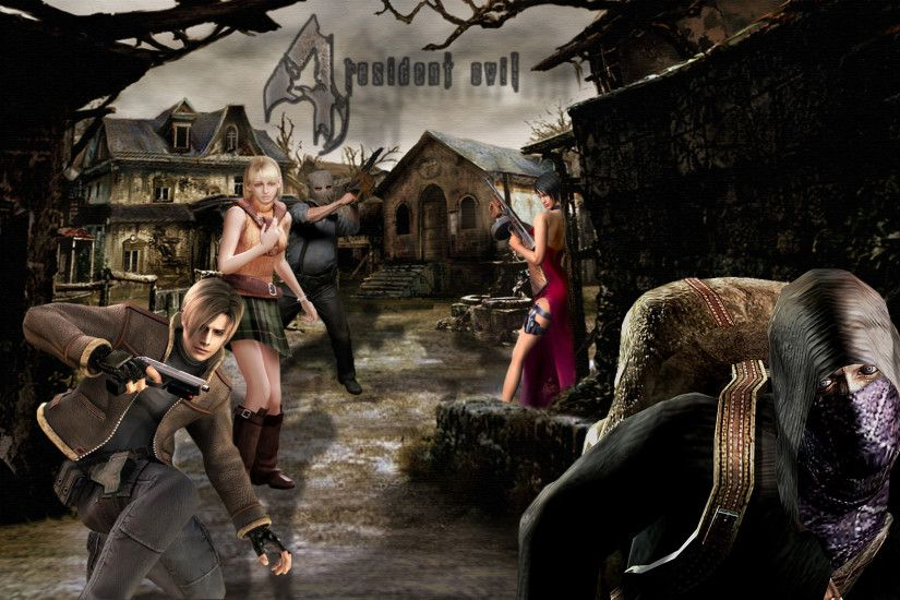 Resident Evil 4 Wall by MusashiChan69 Resident Evil 4 Wall by MusashiChan69
