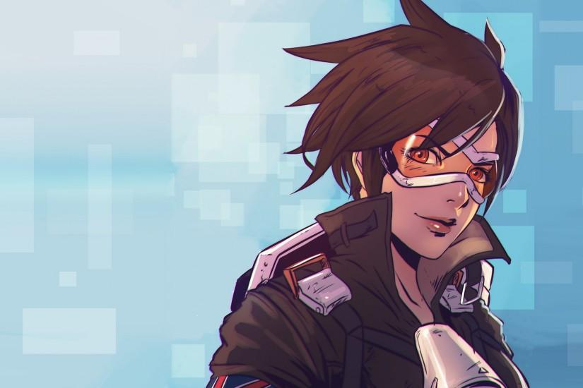 vertical overwatch tracer wallpaper 1920x1080 image