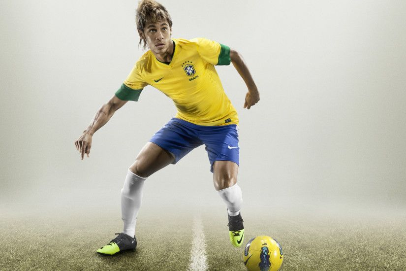 Neymar will step onto the field wearing Nike's GS football boot (soccer  cleats) and a uniform made almost entirely from fabric made from plastic  bottles.
