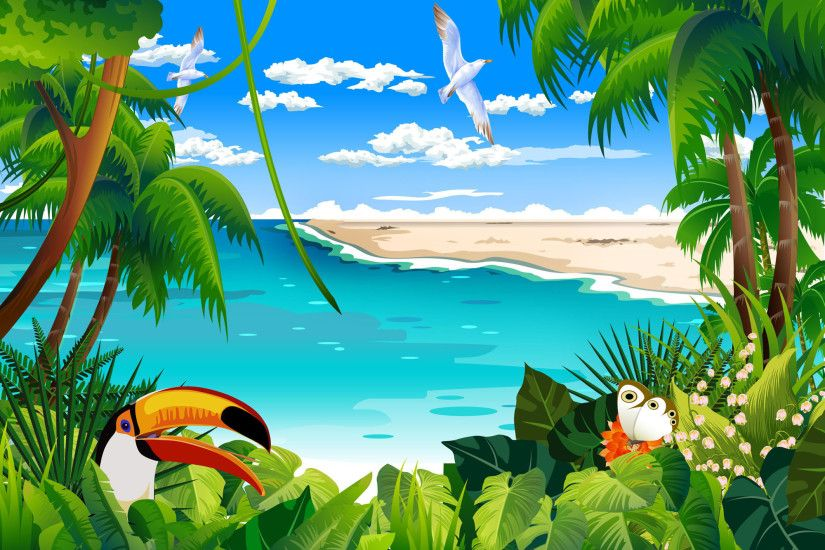 Wallpaper Hd Images Tropical wallpaper Wallpapers android and