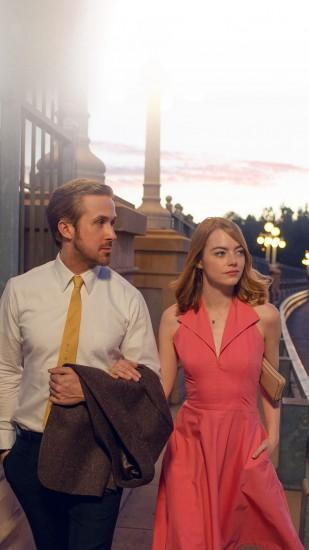 Lalaland Ryan Gosling Emma Stone Red Film #iPhone #6 #plus #wallpaper
