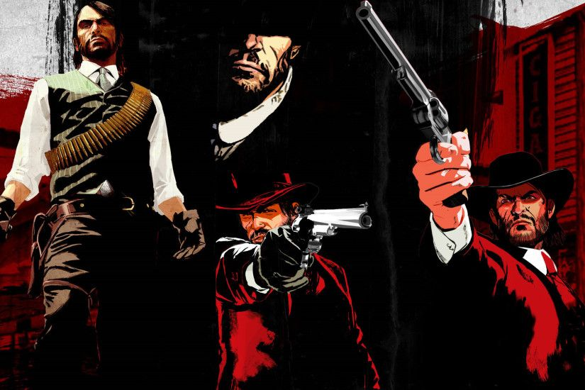 Red Dead Redemption Wallpapers High Quality | Download Free RDR John  Marston With Double Barreled Shotgun Wallpaper For PSP ...