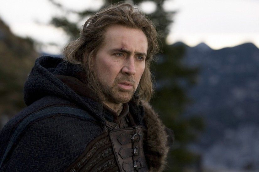 Brunettes movies men celebrity actors warriors nicolas cage medieval  templar season of the witch Wallpaper