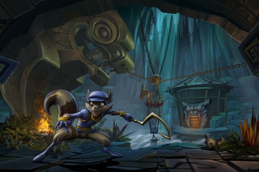 Télécharger Wallpaper Sly Cooper : Voleurs à travers le Temps - 401627