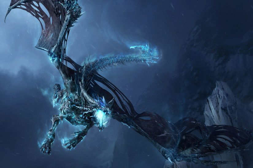 Frost-Dragon-Widescreen-Wallpaper