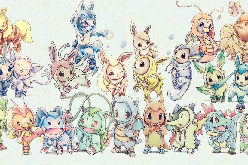 Cute Pokemon Wallpapers Wallpaper Cave Source · Cute Pokemon Wallpaper Hd  Wallpapers in Games 1024x768PX