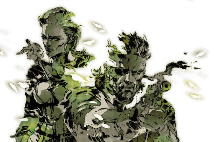 weapons metal gear solid naked snake snake eater 1280x1447 wallpaper Art HD  Wallpaper