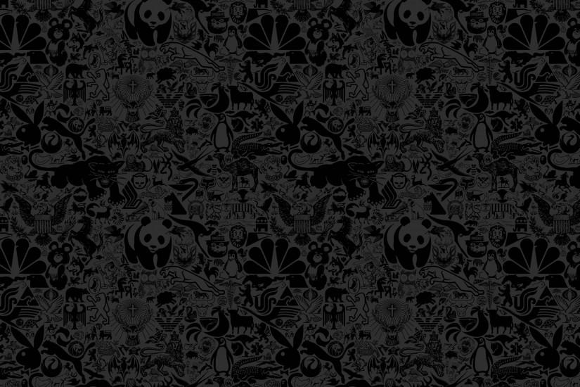 Black Textured Wallpapers