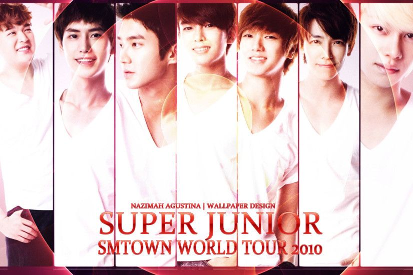 1920x1200 SUPER JUNIOR FOR PHOTOS TEASER SMTOWN WORLD TOUR CONCERT 2010  WALLPAPER .